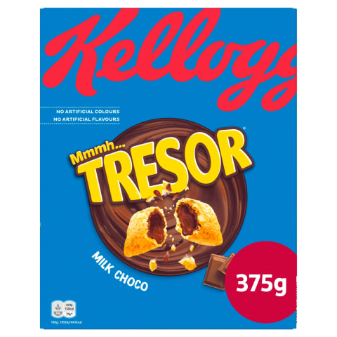 Brok. pārsl. Kellogg's Tresor Milk Choco 375g