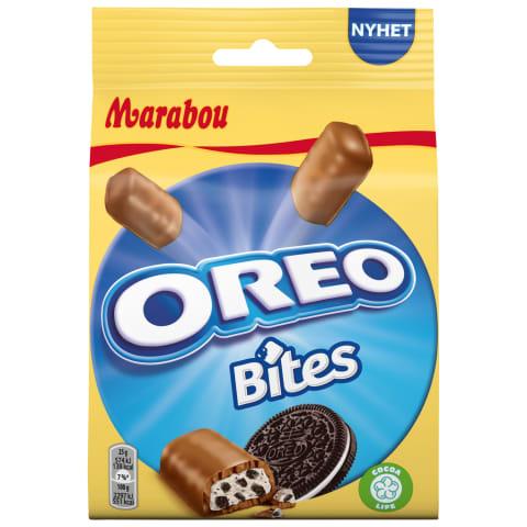 Šokolādes gabaliņi Marabou Oreo Bites 140g