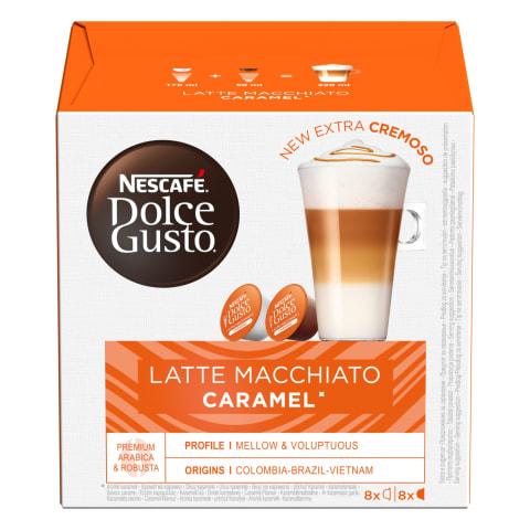 Kaf. kaps. Nescafe Caram. Latte Macch. 8x9,1g