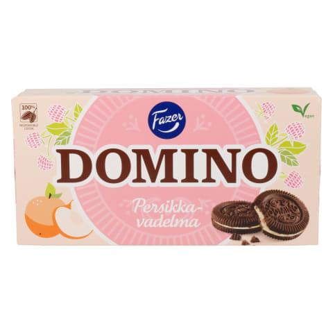 Küpsised virsiku-vaarika Domino Fazer 350g