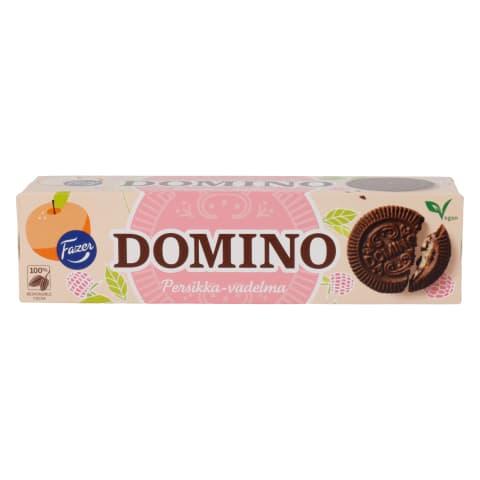 Küpsised virsiku-vaarika Domino Fazer 175g