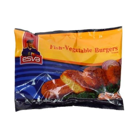 Kala-juurviljaburger Esva 365g