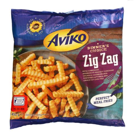 Kartupeļi frī Aviko Zig Zag saldēti 450g