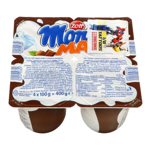 Šokolad. desertas lazd.rieš., MONTE MAX, 100g