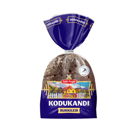 Rukkileib Kodukandi Eesti Pagar 390g