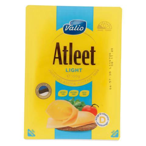 Juust Atleet Light viil. Valio 150g