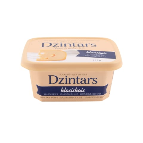 Kausētais siers Dzintars klasiskais 200g