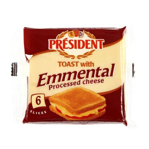 Sulatatud juust Emmentali juustuga 120g