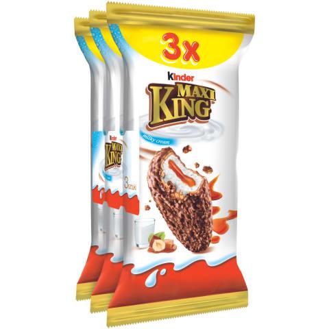 Batoniņš Kinder Maxi King 3x35g