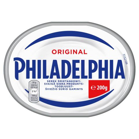 Tep.varš.sūris PHILADELPHIA Originalus,200g