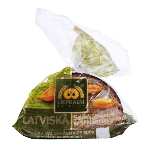 Saldskābmaize Latviskā sēklām/graudiem 300g
