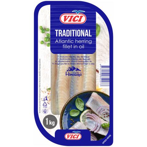 Siļķes fileja Viči tradicionālā 1kg