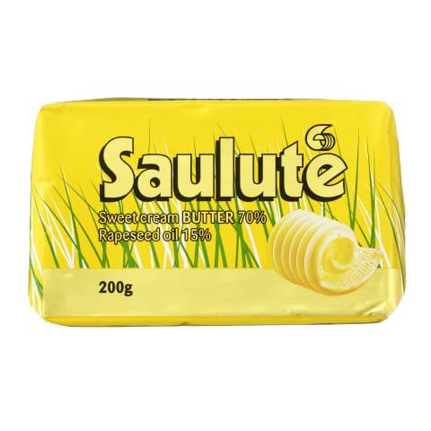 Tep. riebalų mišinys SAULUTĖ, 72% rieb., 200g