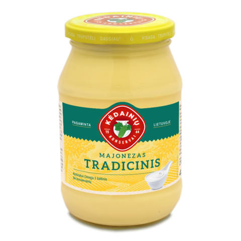 Tradic. majonezas KĖDAINIŲ KONSERVAI,40%,430g