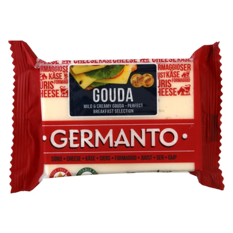 Sūris GERMANTO GUODA, 45% rieb., 240g