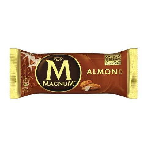 Vaniļas sald.s Magnum ar mandelēm 120ml/86g