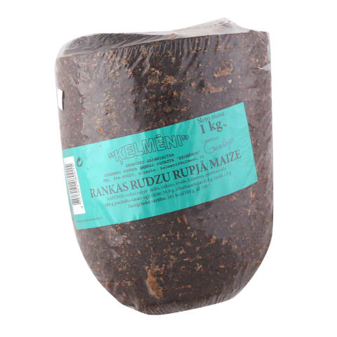 Rudzu maize Ķelmēni sagriezta 1kg