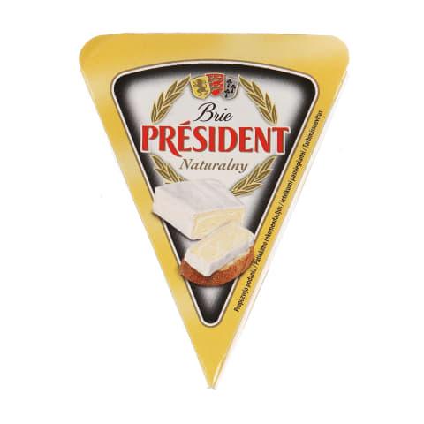 Sūris BRIE PRESIDENT, 32% rieb., 125g