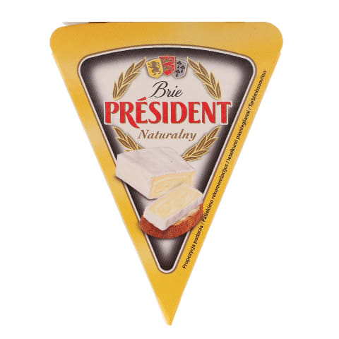 Siers mīkst. President brie natural 125g