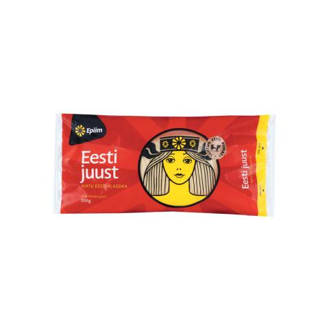 Juust Eesti viilutatud E-Piim 500g