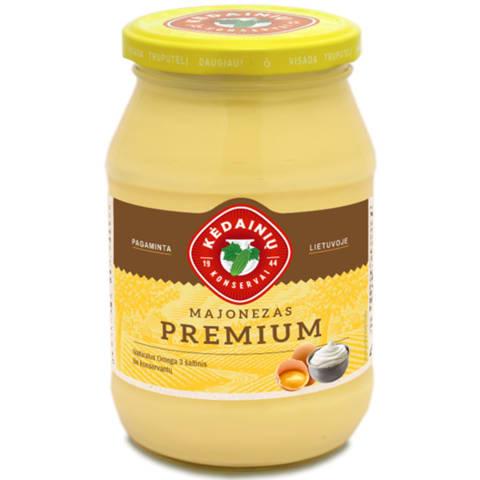 Majonezas KĖDAINIŲ KONSERVAI Premium,62%,430g