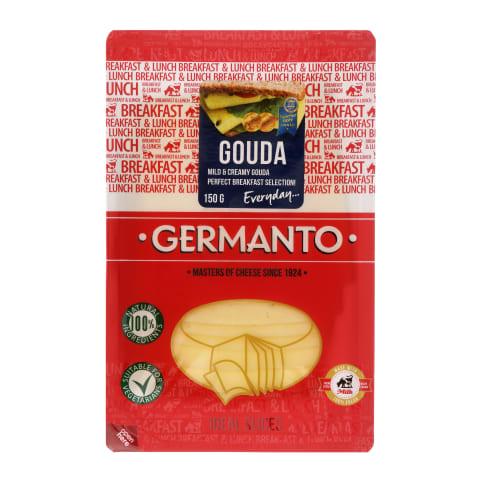 Pjaustytas sūris GERMANTO Gouda, 150g