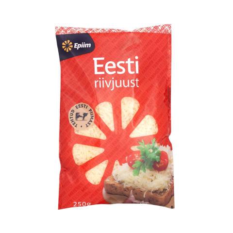 Riivjuust Eesti E-Piim 26% 250g
