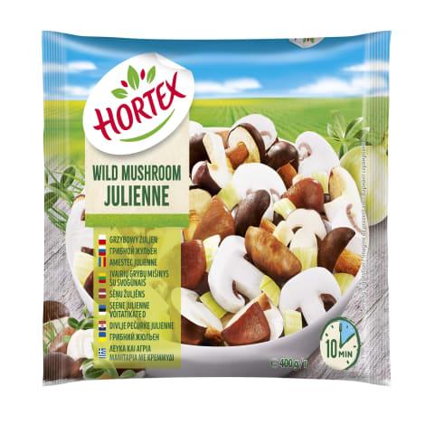 Dārzeņi sald. Hortex Julienne sav. sēnes 400g