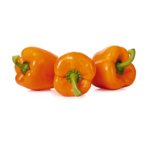 Paprika oranža 80-100 mm 2. šķira kg