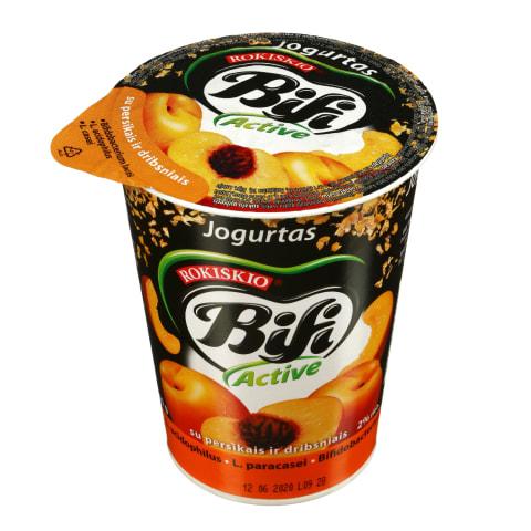 Jogurtas BIFI ACTIVE pers., dribsn., 2%, 360g