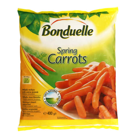 Šaldytos mažos morkytės BONDUELLE, 400g