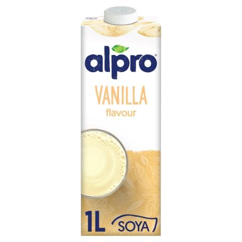 Sojas dzēriens Alpro vaniļas 1l