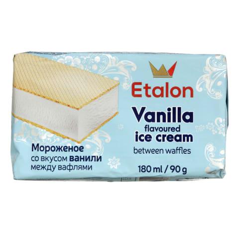 Vanilės skonio valgomieji ledai ETALON, 180ml