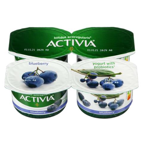 Jogurtas su mėlynėmis ACTIVIA, 2,6%, 480g