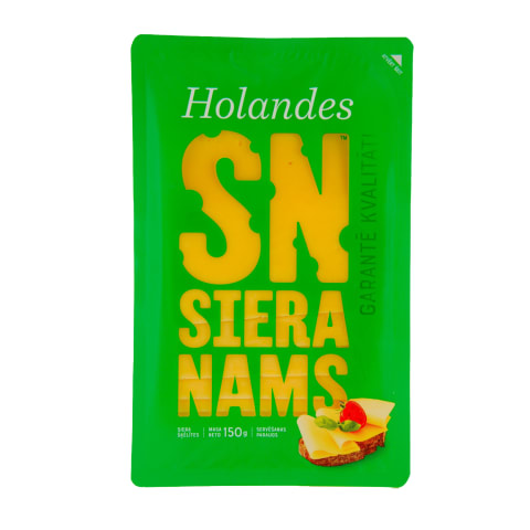 Siers SN Holandes šķēlītēs 150g