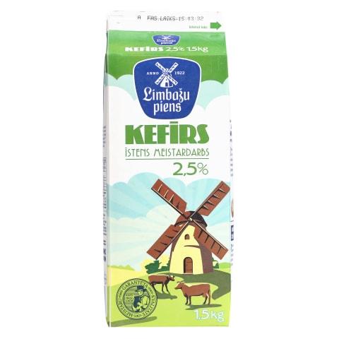 Kefīrs Limbažu 2,5% 1,5l