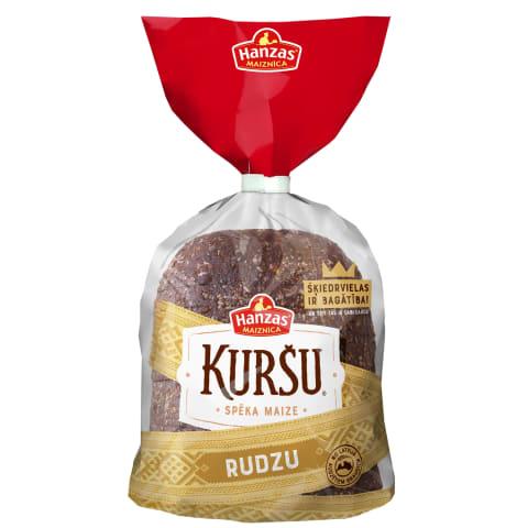 Rudzu maize Kuršu 1/2 sagriezta 390g