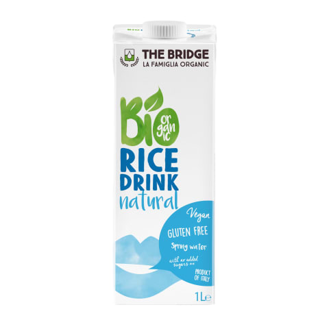 Riisijook Bio Natural The Bridge 1l