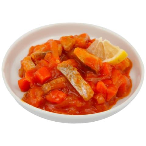 Siļķes fil. salāti Viči ar saut. dārzeņiem kg