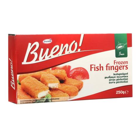 Žuvų piršteliai BUENO, 22% žuvies, 250g
