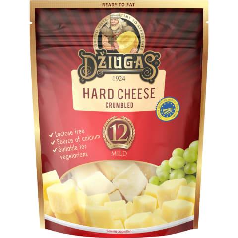 Kietasis sūris DŽIUGAS MILD, 40% rieb., 100 g