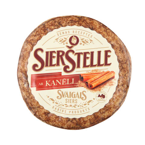 Siers Sierštelles ar kanēli kg