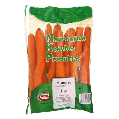 Išskirtinės kokybės morkos, 1 kg
