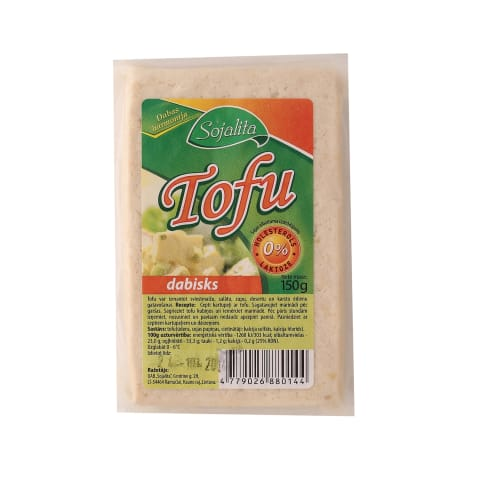 Sojas olbaltuma izstrādājums Tofu 150g