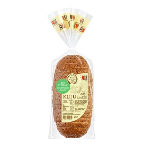 Kliju maize Flora sagriezta 250g