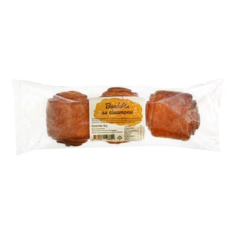 Bandelės su cinamonu FAZER, 3 vnt, 180 g