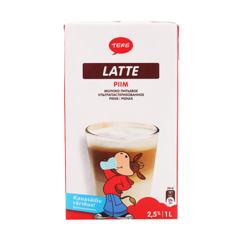 Piim Latte UHT 2,5% 1l