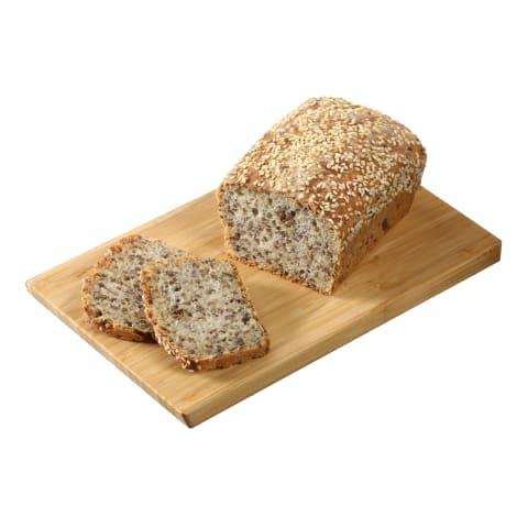 Šviesi bemielė NAMINĖ duona, 300g