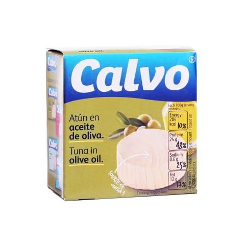 Tuncis Calvo olīveļļā 80g/52g