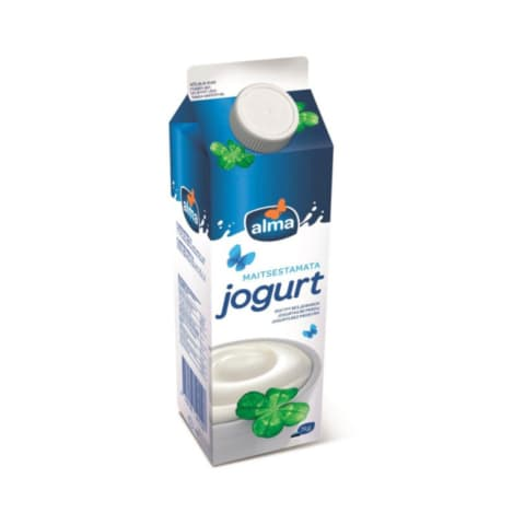 Jogurt maitsestamata Alma 2,5% 1kg